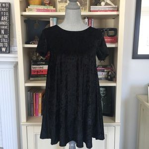 NWT Rolla Cistercian's Black Velvet Dress